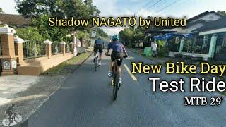 NEW BIKE DAY - MTB Shadow Nagato by United Test Ride Klangon Bersama JMC Bolang
