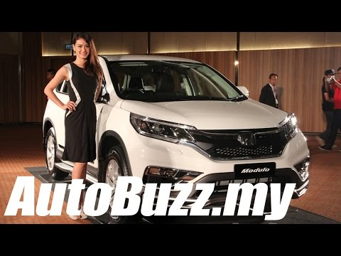 2015 Honda CR-V facelift launch in Malaysia - AutoBuzz.my