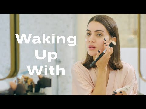 Camila Coelho's Makeup Routine During Fashion Week | Waking Up With | ELLE