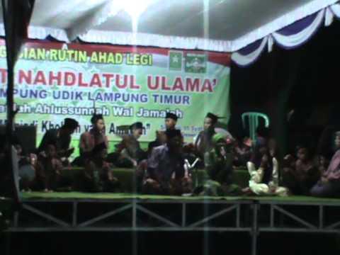 group hadroh Masjid Darussalam Desa Sidorejo Lampung Timur