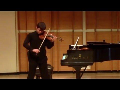 "Aleksey Semenenko, violin | Ysaÿe: Sonata for solo violin ""Ballade"""