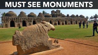 Hampi monuments   The historical city of Karnataka