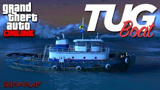 GTA Online: TUG BOAT DO GTA 4! - Item mais inutil da DLC!