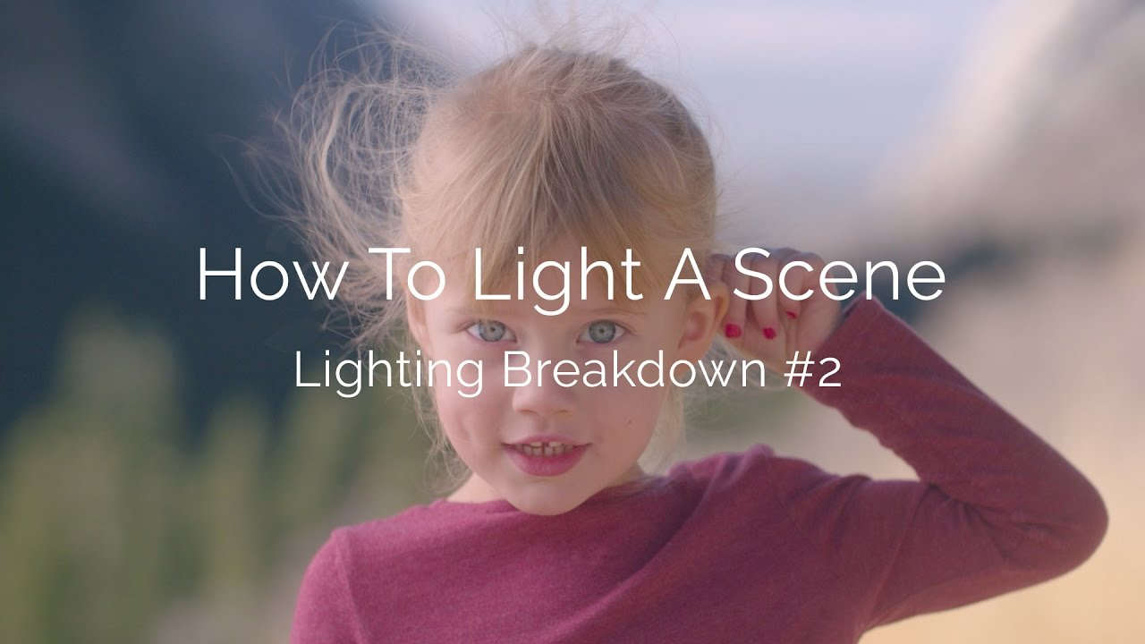 how to write a scene break down