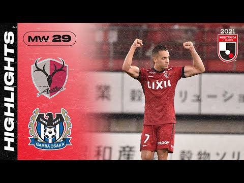 Kashima G-Osaka Goals And Highlights