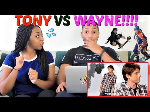"Epic Rap Battles of History ""Tony Hawk vs Wayne Gretzky"" REACTION!!!"