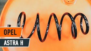 Comment changer Bouchon de carter d'huile OPEL ASTRA H Saloon (L69) - video gratuit en ligne