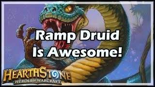 [Hearthstone] Ramp Druid Is Awesome!
