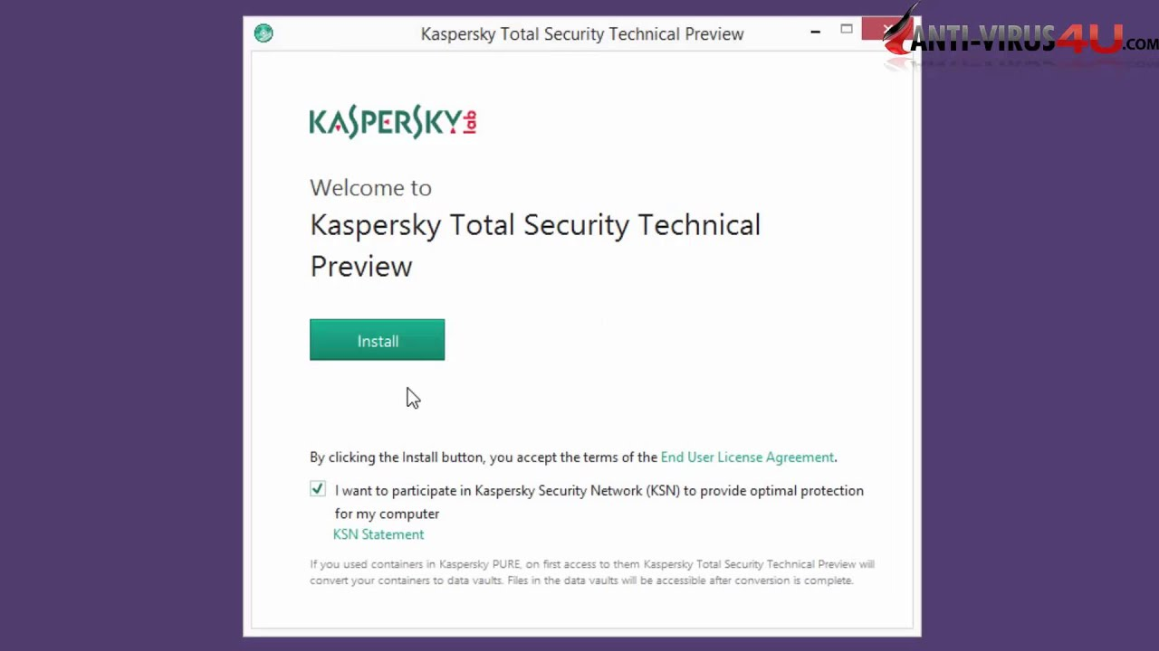 Download and Install Kaspersky 2016 on Windows 10/8.1/8/7/Vista/XP ...