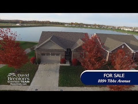 Amazing Waterfront Home For Sale with a Walkout Basement in Perry Township, Indianapolis