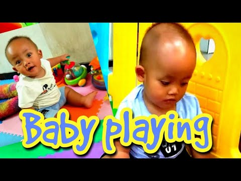 Kid's Playing Funny Baby Video