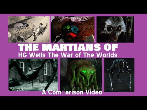 "The Martians Of HG Wells ""The War Of The Worlds"" Comparison: Book, Movies, TV, Musical"