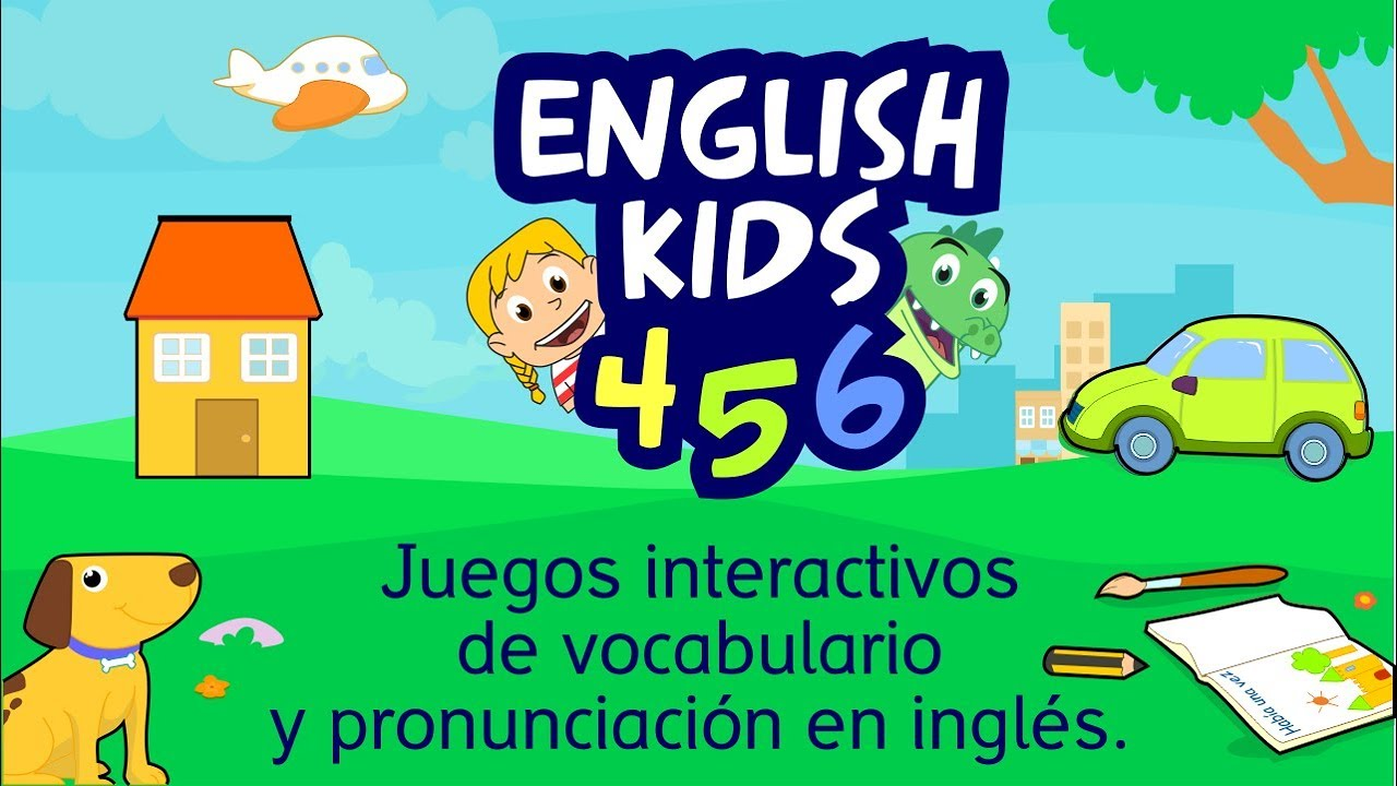 English 456 Aprender Inglés Para Niños Aplicación Infantil Vocabulario Gratis Animales Youtube