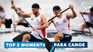 Top 5 moments from Canoe | Paralympic Games