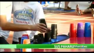 TV Media - Pro TV, Sport.ro - Speed Stacks