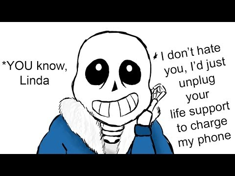 Sans Just ROASTED Linda. (Undertale Animation & PTA Comic Dub Compilation)