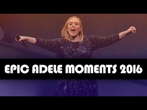 16 EPIC Adele Concert Moments Of 2016