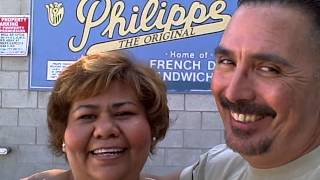 Jennie And Steve At Philippe's Downtown Los Angeles