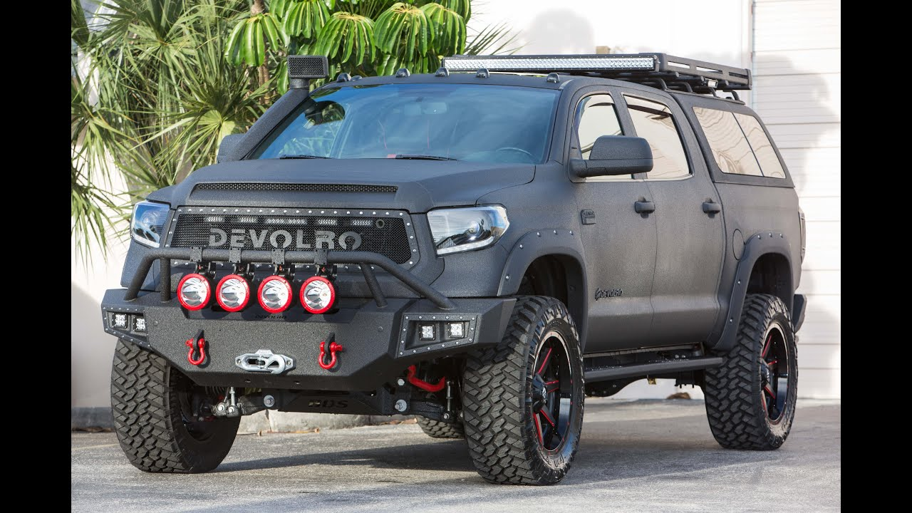 Toyota Tundra Devolro Custom Made Truck In Mongolia Of