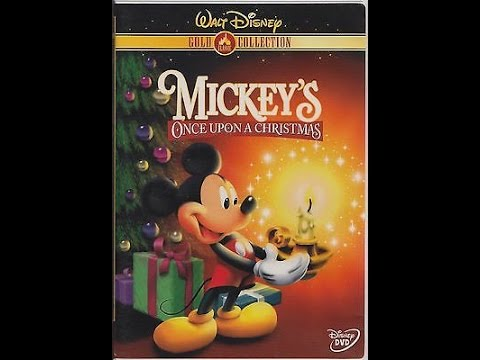 Opening To Mickey S Once Upon A Christmas 2000 Dvd Youtube