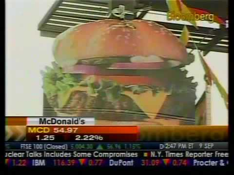 McDonald's Sales Outperform Despite Stock Underperformance - Bloomberg
