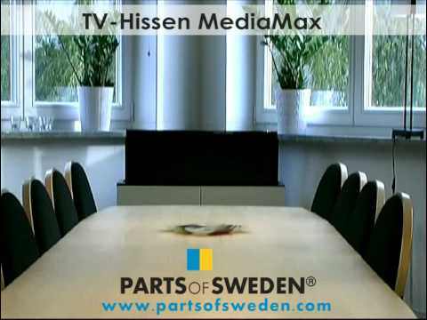 ikea popup tv lift cabinet mediamax youtube. Black Bedroom Furniture Sets. Home Design Ideas