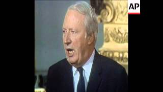 SYND 17-1-73 PM EDWARD HEATH MAKES A PRESS STATEMENT ON WAGE CURBS
