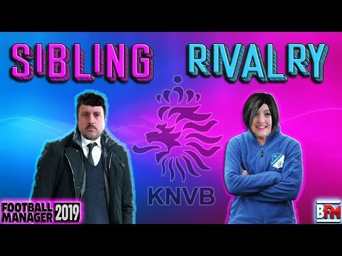 FM19 - Sibling Rivalry - Manager Experiment - Football Manager 2019