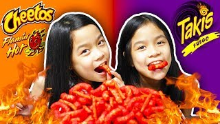 spicy fire takis