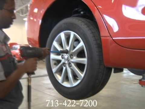 Toyota Maintenance Auto Mechanic Car Repair Shop Angleton Lake Jackson TX