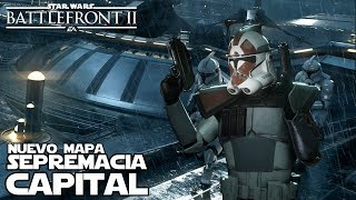 Nuevo mapa de Supremacia Capital - Kamino - Star wars Battlefront 2
