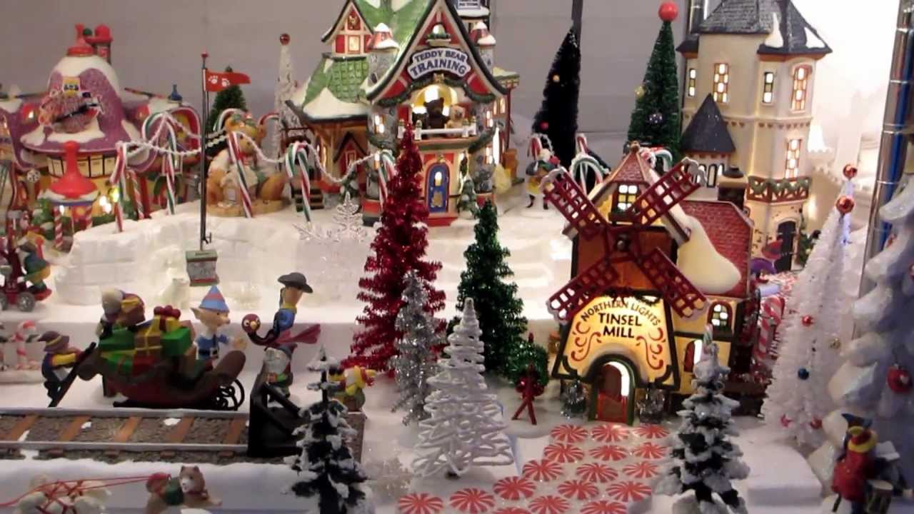 Department 56 North Pole Kathy\'s 2012 - YouTube