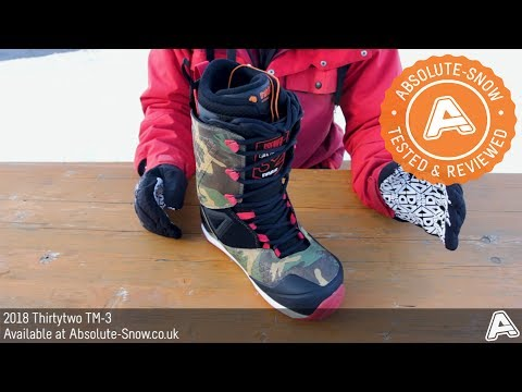 2017 / 2018 | Thirtytwo TM-3 Snowboard Boots | Video Review