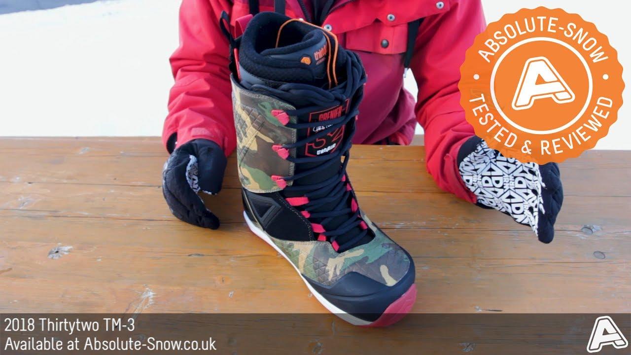 2018   Thirtytwo TM-3 Snowboard Boots