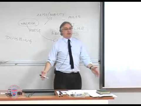 Bilkent HIST417 20111223 LECTURE21   Medieval Society & Chaucer's Canterbury Tales