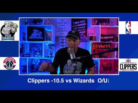 Los Angeles Clippers vs Washington Wizards 2/23/21 Free NBA Pick and Prediction NBA Betting Tips