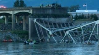 Bridge collapse in Washington state: Cars plunge into Skagit River