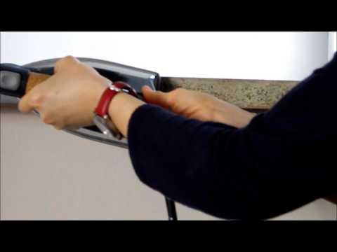How to remove an edge banding / Comment retirer chant de plan de travail