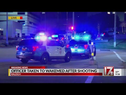 CBS 17 crews all over Raleigh provide updates after officer shot