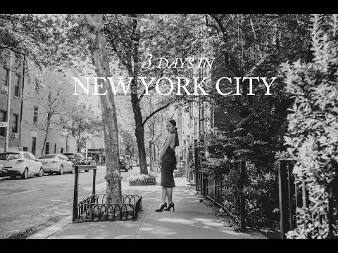 3 DAYS IN NEW YORK CITY: Elizabeth's City Guide