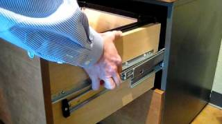 How to remove Techline Lateral File drawers