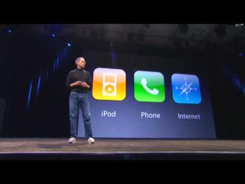 Steve Jobs announces iPhone HD