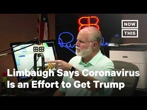 Rush Limbaugh Spreads Coronavirus Conspiracy Theories | NowThis