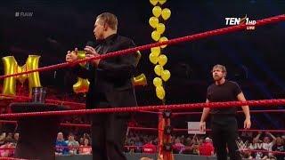 Dean Ambrose crashes The Miz's Intercontinental Title Comeback Tour Celebration- Raw, June 5, 2017