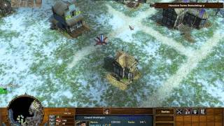 Crossing the Delaware - Age of Empires 3 The Warchiefs - Act 1 Mission 4 - Hard
