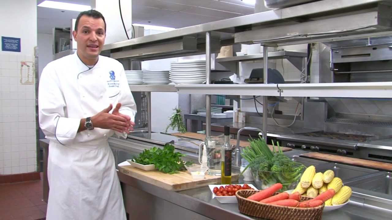 Chefs buying fresh herbs - Cooking With Fresh Herbs By Executive Chef Andres Jimenez The Ritz Carlton Laguna Niguel Youtube