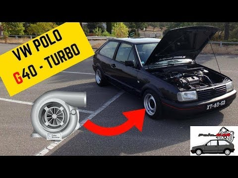 VW Polo G40 TURBO - Portugal Stock and Modified Car Reviews
