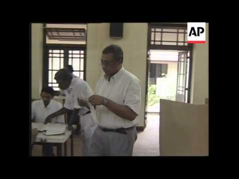 Voting begins in Sri Lankan Parliamentary election