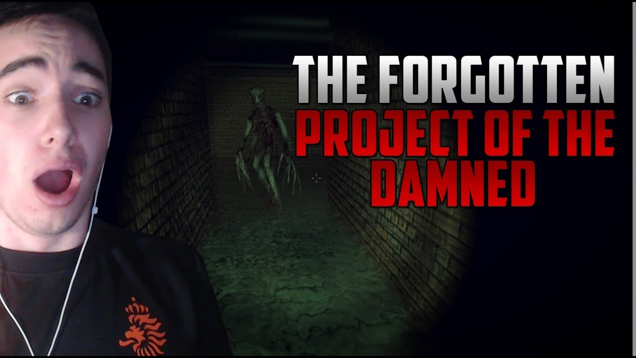 The Forgotten Project of The Damned - Indie Horror Game (+Download Link)