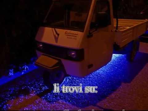 Fari per Car Tuning a LED - YouTube